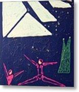 Dancing Under The Starry Skies Metal Print by J R Seymour