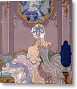 Dangerous Liaisons Metal Print by Georges Barbier