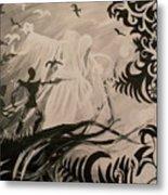 Dark And Light Metal Print by Lisa Leeman