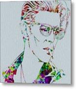 David Bowie Metal Print by Naxart Studio