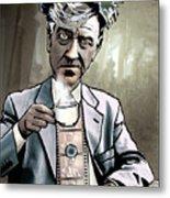 David Lynch - Strange Brew Metal Print by Sam Kirk