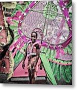 Dc Caribbean Carnival No 14 Metal Print by Irene Abdou