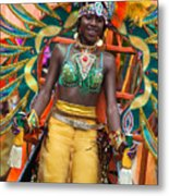 Dc Caribbean Carnival No 16 Metal Print by Irene Abdou