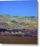 Death Valley - Land Of Extremes Metal Print by Christine Till