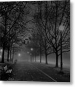 December Morning In Riverfront Park - Spokane Washington Metal Print by Daniel Hagerman