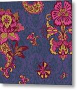 Deco Flower Purple Metal Print by JQ Licensing
