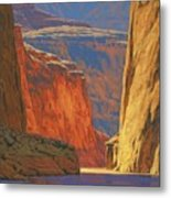 Deep In The Canyon Metal Print by Cody DeLong