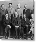 Defendants And Naacp Counsel Metal Print by Everett