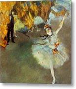 Degas: Star, 1876-77 Metal Print by Granger