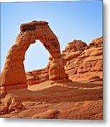 Delicate Arch The Arches National Park Utah Metal Print by Christine Till