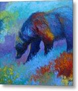 Denali Grizzly Bear Metal Print by Marion Rose