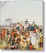 Derby Day Metal Print by William Powell Frith