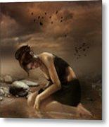 Desolation Metal Print by Mary Hood