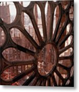 Detail Of La Sagrada Familia, Barcelona, Spain Metal Print by Tobias Titz