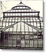 Detroit Belle Isle Conservatory Metal Print by Alanna Pfeffer