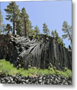 Devil's Postpile - Talk About Natural Wonders Metal Print by Christine Till