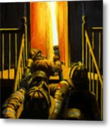 Devil's Stairway Metal Print by Paul Walsh