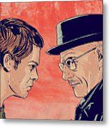 Dexter And Walter Metal Print by Giuseppe Cristiano