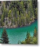 Diabolo Lake North Cascades Np Wa Metal Print by Christine Till