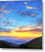 Digital Liquid - Good Morning Virginia Metal Print by Metro DC Photography