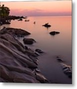 Dimming Of The Day Metal Print by Mary Amerman