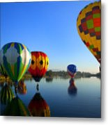 Dip And Go Metal Print by Mike  Dawson