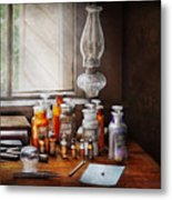 Doctor - The Doctor Is In Metal Print by Mike Savad