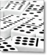 Dominoes I Metal Print by Tom Mc Nemar