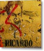 Don-ricardo Metal Print by Skip Hunt