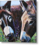 Donkey Tonk Metal Print by Billie Colson