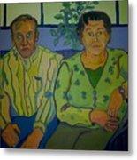 Dottie And Jerry Metal Print by Debra Robinson
