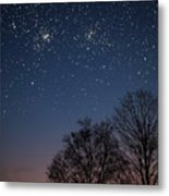 Double Cluster Sunset Metal Print by Charles Warren