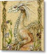 Dragon Metal Print by Morgan Fitzsimons