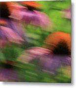 Dreaming Of Flowers Metal Print by Karol Livote