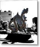 Drexel Dragon Metal Print by Bill Cannon
