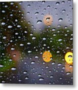 Driving Rain Metal Print by Tim Nichols