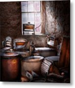 Dry Cleaner - Put You Through The Wringer  Metal Print by Mike Savad