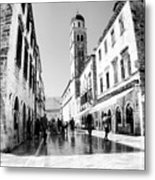 #dubrovnik #b&w #edit Metal Print by Alan Khalfin