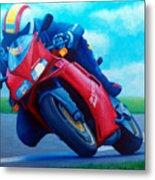 Ducati 916 Metal Print by Brian  Commerford