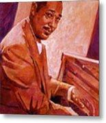 Duke Ellington Metal Print by David Lloyd Glover