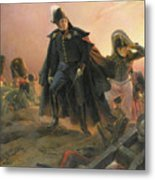 Duke Of Angouleme At The Capture Of Trocadero Metal Print by Hippolyte Delaroche