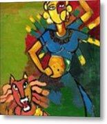 Durga Metal Print by Abdus Salam