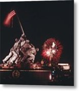 During Independence Day Celebrations Metal Print by Joseph H. Bailey