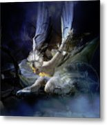 Dying Swan Metal Print by Mary Hood