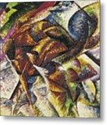 Dynamism Of A Cyclist Metal Print by Umberto Boccioni