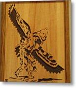 Eagle Dancer Metal Print by Russell Ellingsworth