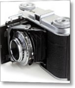 Early 35mm Film Camera Metal Print by Paul Cowan