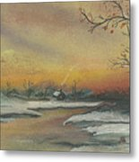 Early Winter Metal Print by Shelby Kube