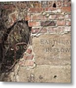 Earth Laughs In Flower Wall Metal Print by Tom Mc Nemar