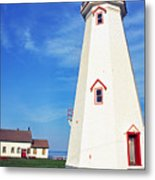 East Point Lightstation Metal Print by Thomas R Fletcher